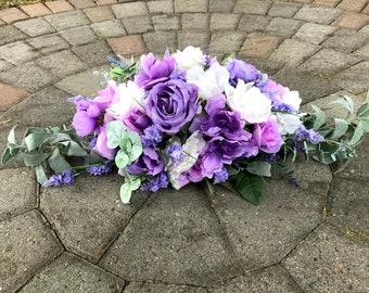 Wedding Ceremony Flower Arrangement, Floral Wedding, Sweetheart Table Floral Arrangement, Flower Wedding Decor