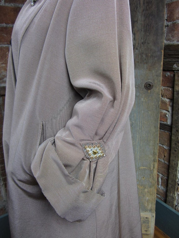 Vintage Opera Coat 1940s Swing