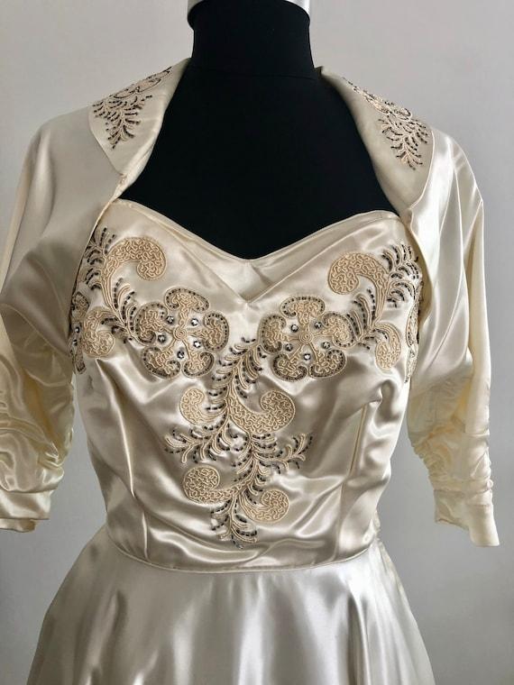 1950s -60s Wedding Dress