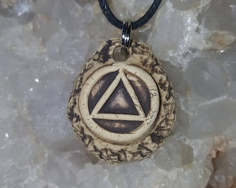 Essential Oil Diffuser  Recovery AA  Sobriety Symbol One day at a time