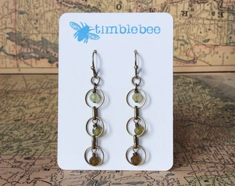 garnet /& brass katahdin earrings sun