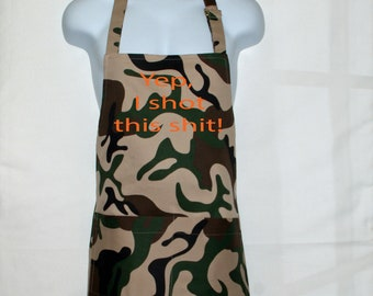 Armed Forces Serving In The Army Nay Raf Gift Novelty Cooking  BBQ Apron