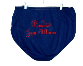 756639819651 Granny Panties, Extra Large Size, Funny Gag Gift, Princess Gran Mama, For  New Grandma, No Shipping Fee, Ready to Ship TODAY, AGFT 825