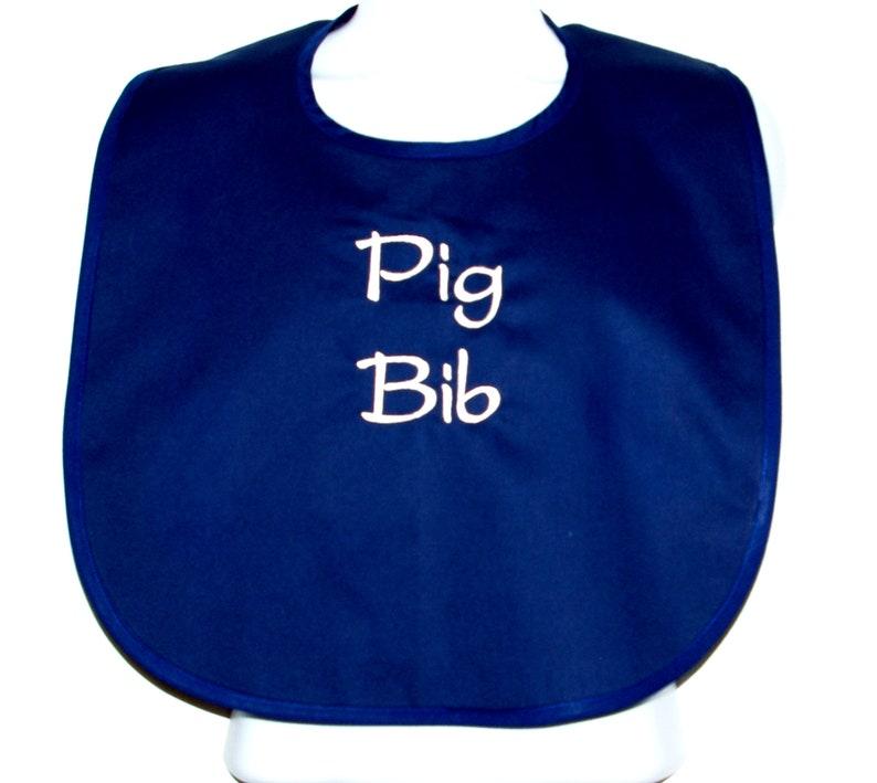 Eating Contest Ships Today Opa AGFT 1182 Bachelor Party Grandparent Birthday Gift Husband Pig Bib Funny Custom Adult Bib Boss Groom