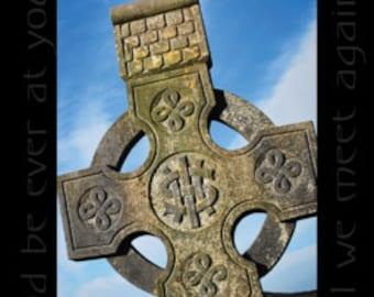 St Patricks Day, March, Celtic Crosses with Irish Blessing Irish Catholic Ireland Clovers Allihies Beara Peninsula Collage Mulitple Pictures