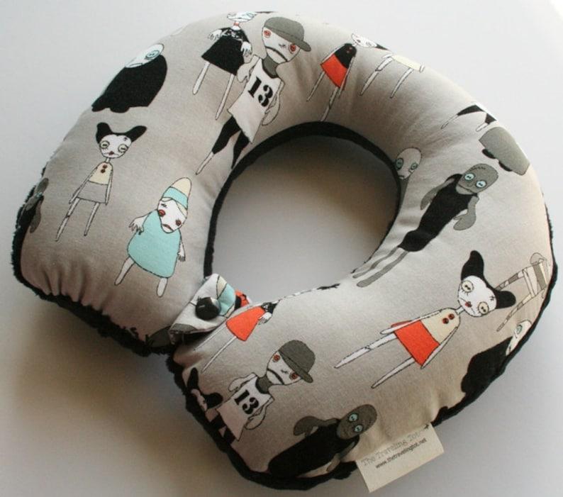 Toddler/Child Travel Neck Pillow  Zombie Apocalypse image 0