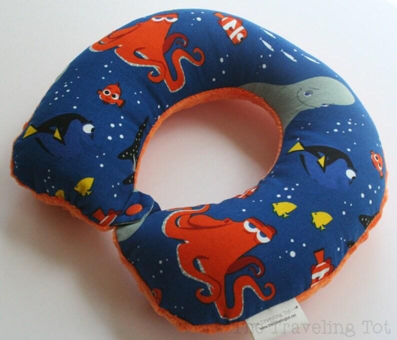 Toddler/Child Travel Neck Pillow  Just Keep Swimming image 0