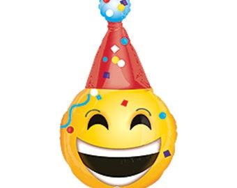 Emoji Balloon Party Birthday