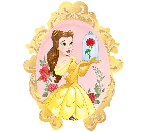 Princess Belle Party Decorations Disney Belle Balloon Etsy Best Princess Belle Party Decorations