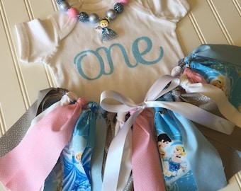 Cinderella Birthday Party - Cinderella Girl Outfit - Princess Cinderella Party Skirt - Cinderella Tutu - Birthday Skirt - Disney Cinderella
