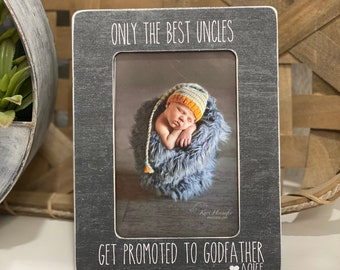 Personalized Engraved //// Godfather //// Padrino //// Picture Frame ////