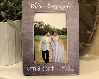 Engagement Frame Etsy