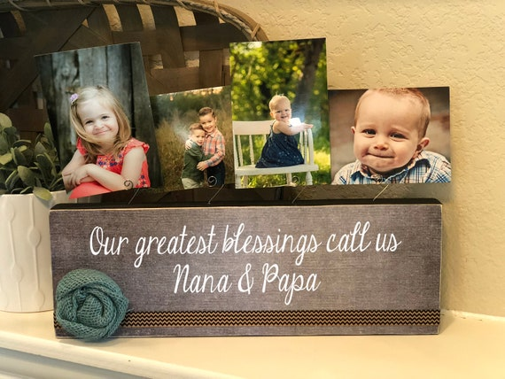 Personalized Christmas Gift For Grandparents | Grandma Nana Grandpa Papa | Personalized From Grandkids For Grandparents