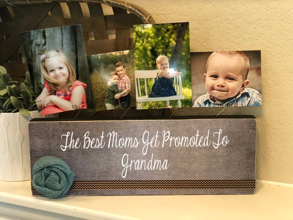 Grandma Gift | The Best Moms Get Promoted To Grandma | Christmas Gift For Grandma