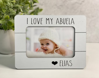 Abuela Gift Christmas Abuela Gift | Mimi Frame | Gift for Grandma | Personalized Picture Frame Abuela Personalized Gift
