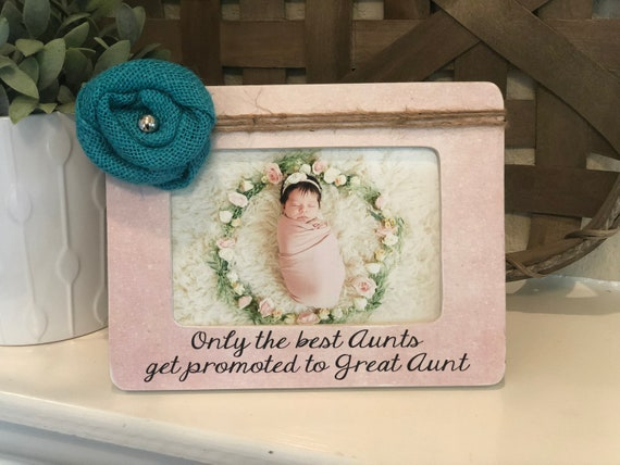 Christmas Gift For Great Aunt | Personalized Gift For Great Aunt | Picture Frame For Great Aunt