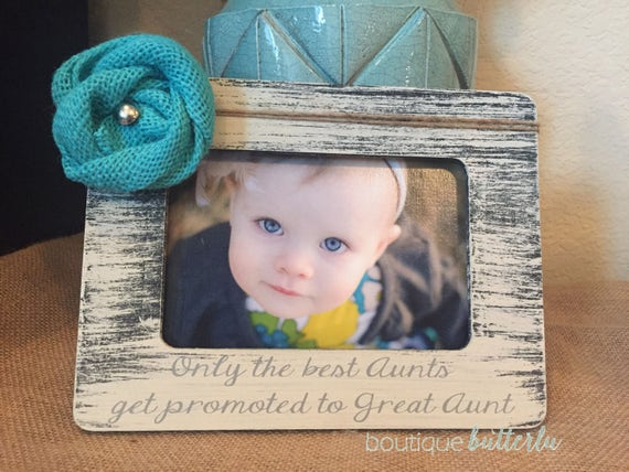 Great Aunt frame gift Personalized picture frame great aunt uncle ...