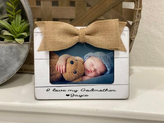 Godmother Gift | I Love My Godmother | Christmas Gift for Godmother | Godparents Frame | Godmother From Godchild Personalized Gift
