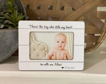 Mimi Gift Grandma Gift | Mimi Frame | Gift for Grandma | Christmas Mimi Gift | Personalized Picture Frame Grandma Personalized Gift