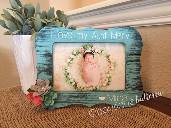 Aunt Auntie Sister Gift Frame Great Aunt Grandma Gift Picture Frame ...