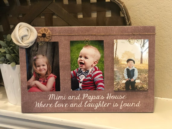 Mimi Papa Gift | Christmas Gift For Grandparents | Personalized Gift For Grandparents