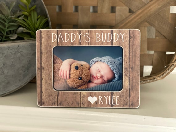 Christmas  Gift For Dad | New Dad Personalized Gift For Husband | Personalized Gift 4x6  Frame