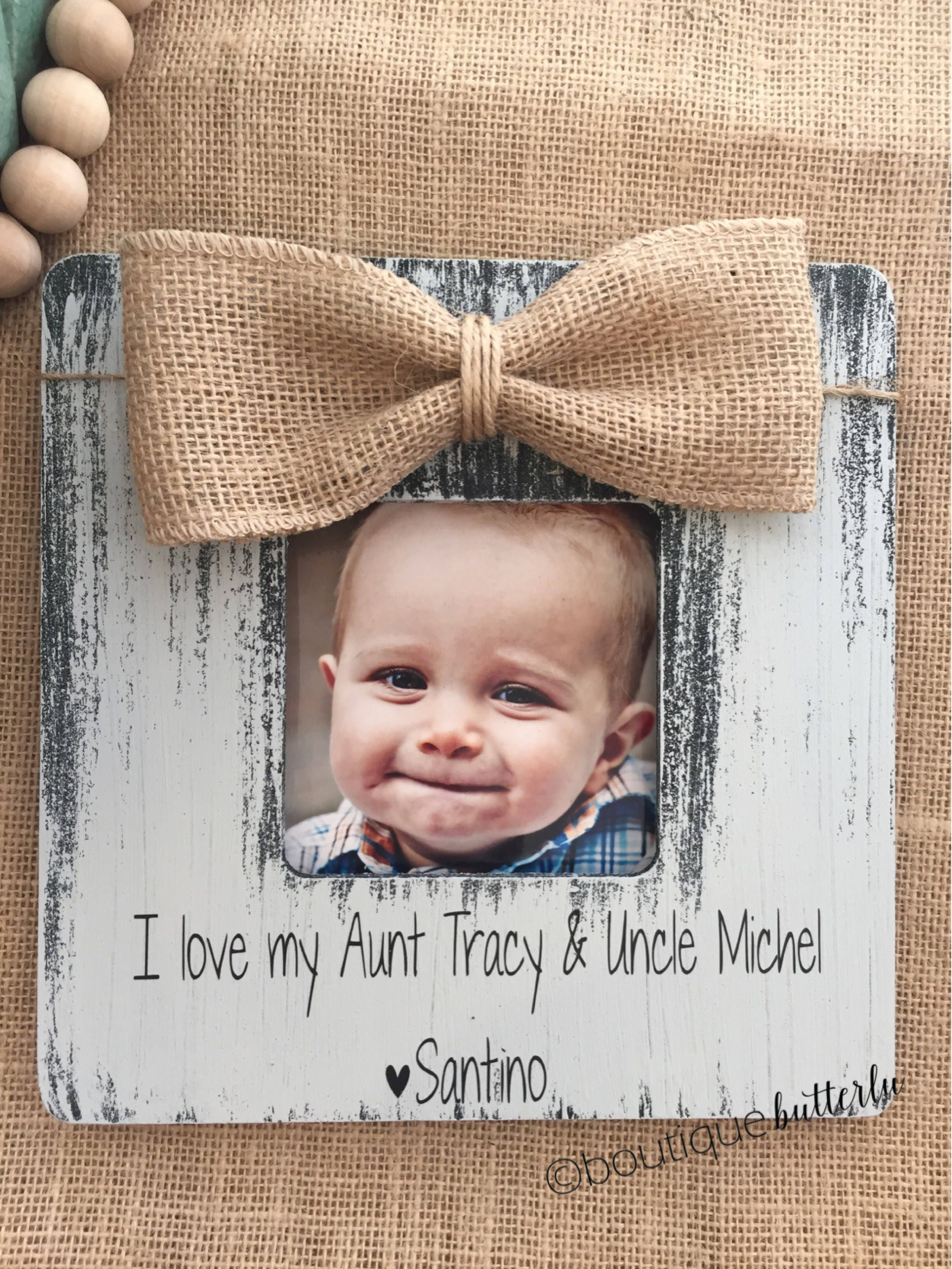 Gift for Aunt & Uncle | Christmas Gift for Aunt Uncle | Personalized ...