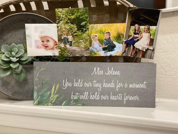 Personalized Teacher Gift | Christmas Gift For Teacher | Nanny Gift|  Personalized Gift From Kids For Teacher, Nanny, Nurse