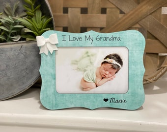 Mother's Day Grandma Gift | Grandma Frame | Gift for Grandma | Christmas Grandma Gift | Personalized Picture Frame Grandma Personalized Gift