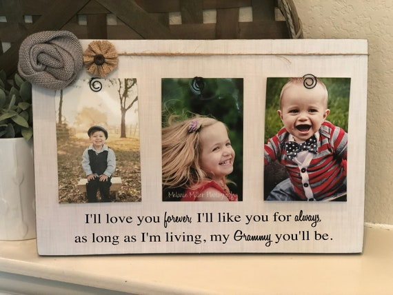 Grammy Grandma frame mom mothers day mommy Personalized picture frame board aunt nana mimi grandma gift wood custom any quote!
