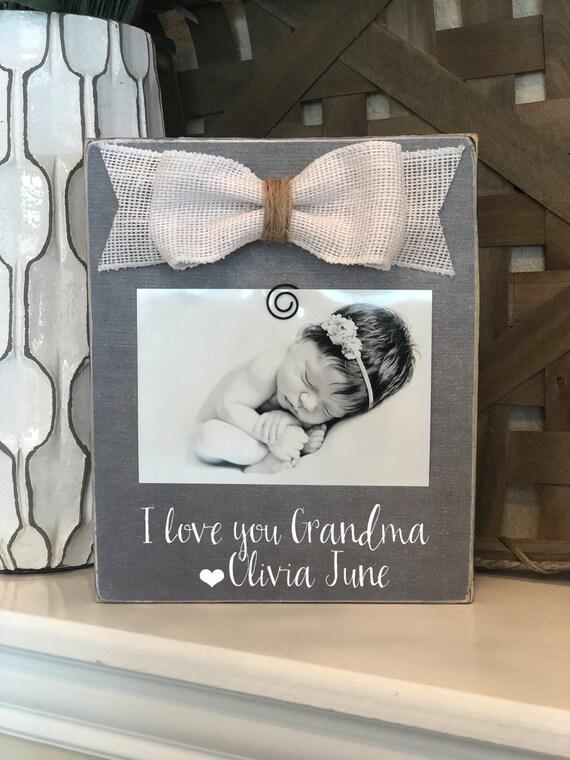Christmas Grandma Gift Grandma Personalized Gift Love You Grandma Picture Frame Gift For Grandma Nana Mimi Grammy Grammie Memaw 4x6 Frame