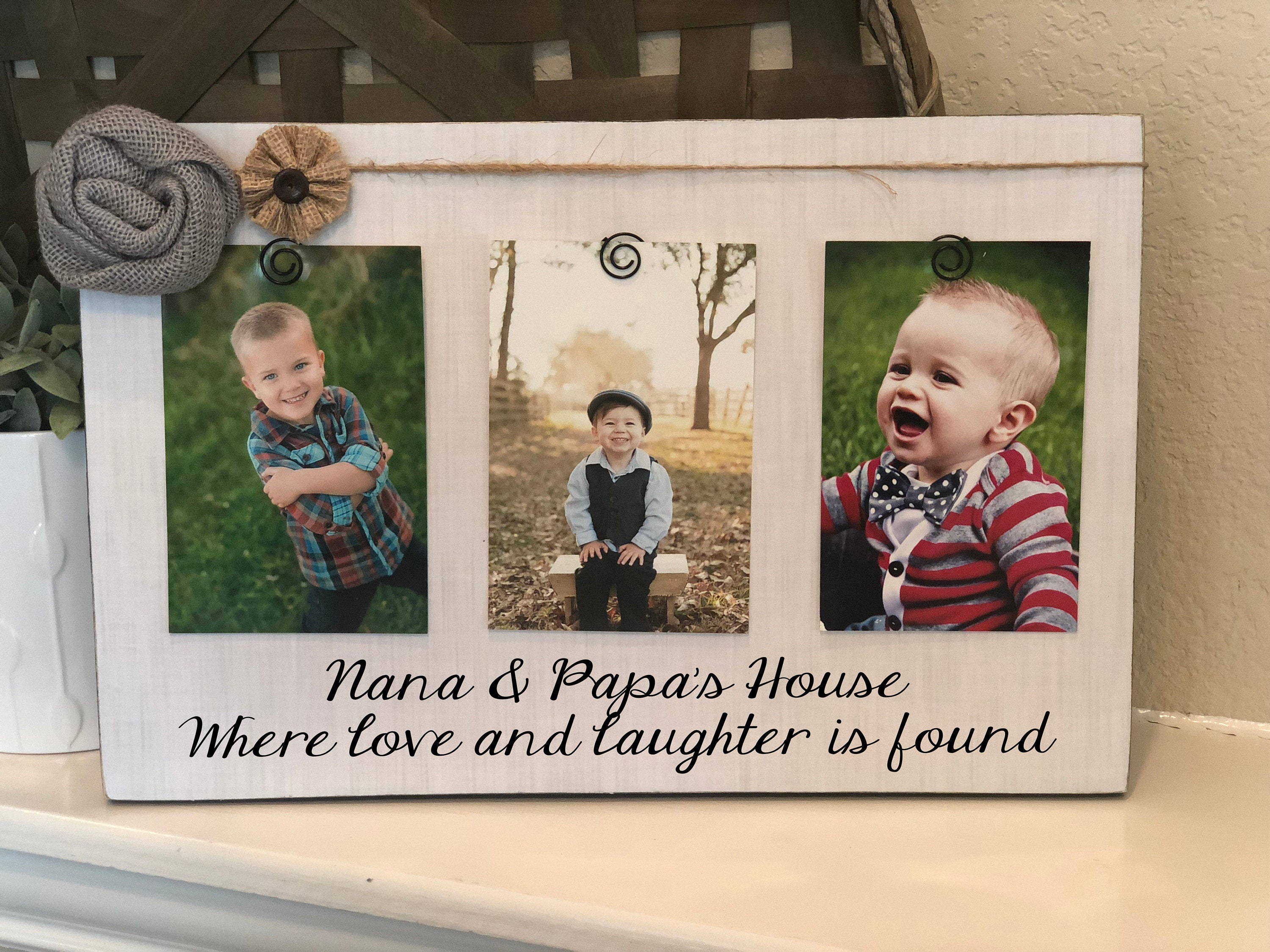 Nana Papa Gift Personalized Christmas Gift For Grandparents