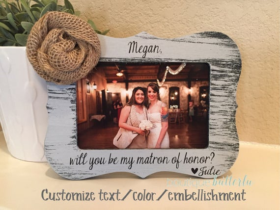Will You Be My Maid Of Honor | Maid Of Honor Proposal | Matron Of Honor | Bridesmaid Gift | Personalized Bridal Party