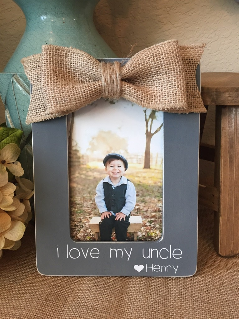 Aunt And Uncle Personalized Picture Frame | Christmas Gift For Uncle ...