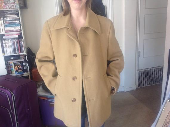 Virany Men's Wool Coat Size 42