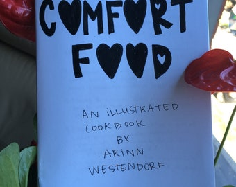 comfort food cookbook zine