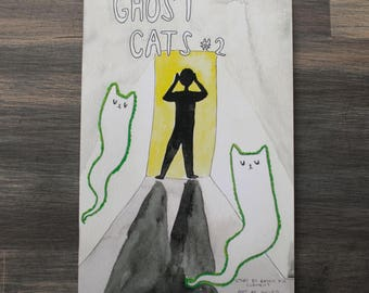 Ghost Cats comic issue 2