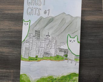 Ghost Cats comic issue 1