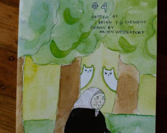 Ghost Cats comic issue 4