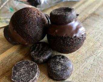 Peppermint Pattie Mini Donut Holes
