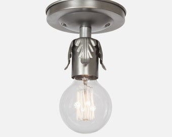 Pantry Light Fixture Etsy - Silver kitchen light fixtures