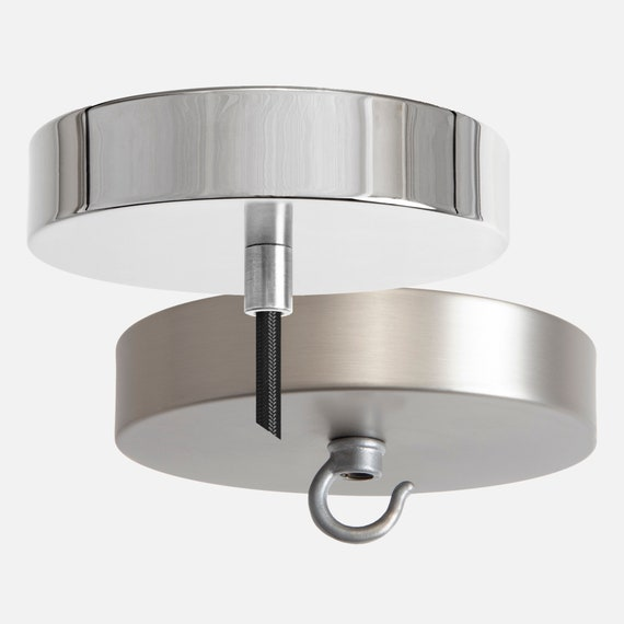 Ceiling Lamp Canopy: Ceiling Canopy Kit Nickel Pendant Light Ceiling Box