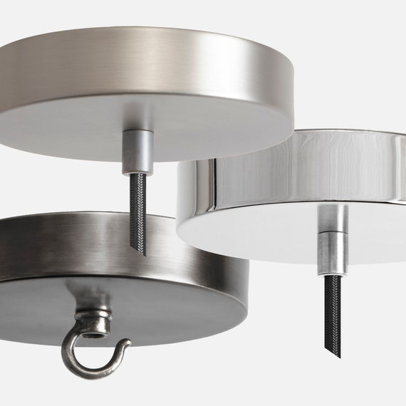 Ceiling Lamp Canopy: Nickel Ceiling Canopy Pendant Light Kit Chandelier Canopy