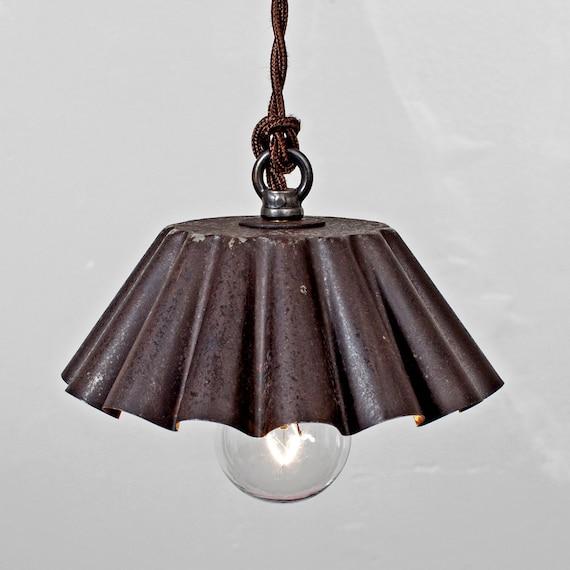 Items Similar To Brioche Tin Pendant Light (SM)