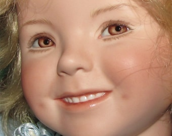 Dianna Effner doll made by artist as One of a kind beauty heirloom doll 19 inches