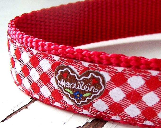 My Sweetheart Dog Collar / Feminine / Valentine's Day / Love / Hearts