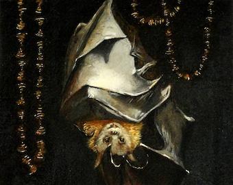 Open Sesame - bat print