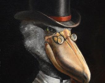 Topper - stork print