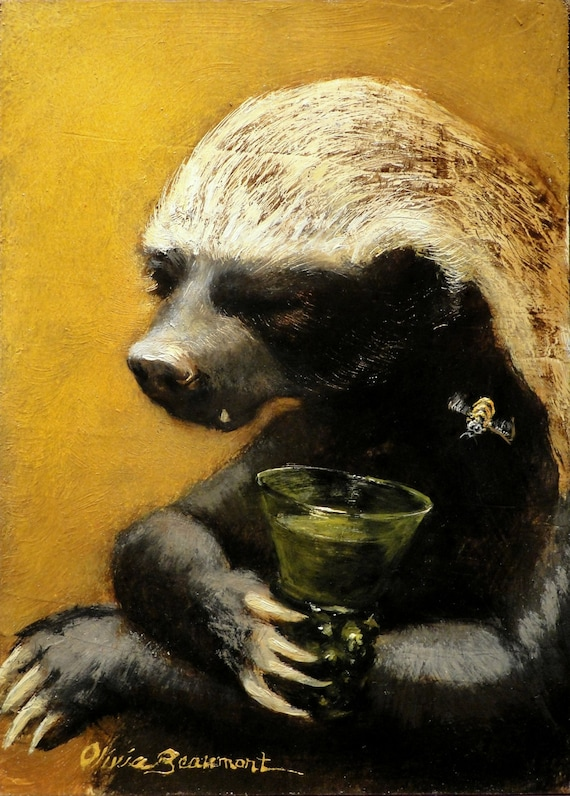 Badger Animal Face Party Mask Card A4 Fancy Dress Ladies Men Kids Black /& White