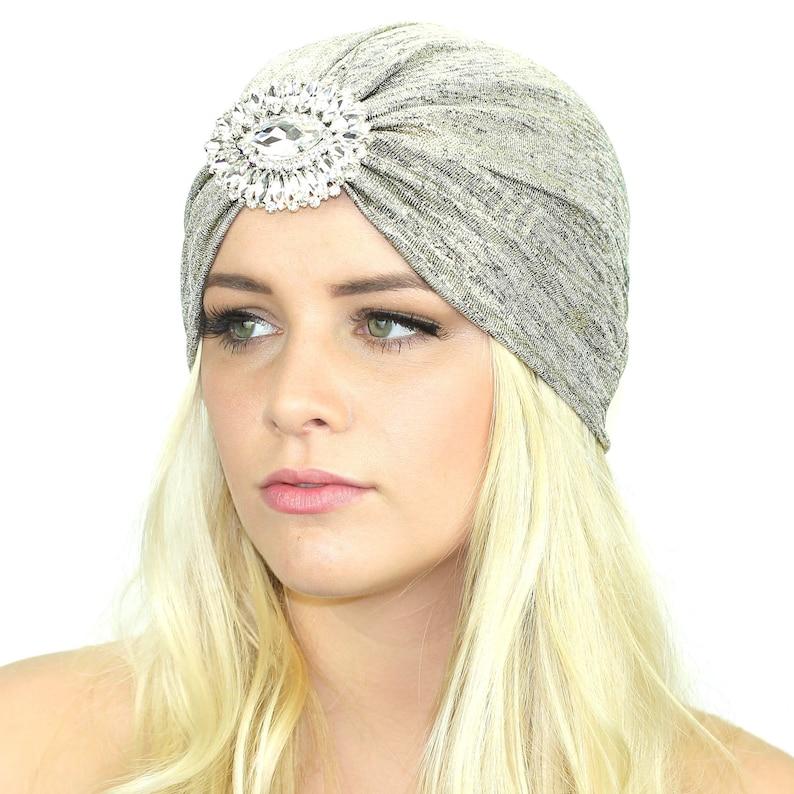 b181ef218fa2a Crystal Knit Turban   Stretch Full Turban   Kristin Perry